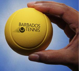 The Barbados Tennis logo